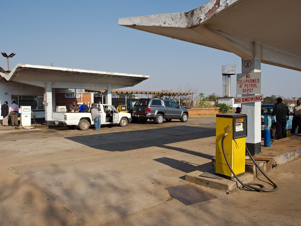 No Cellphones at Petrol Depot